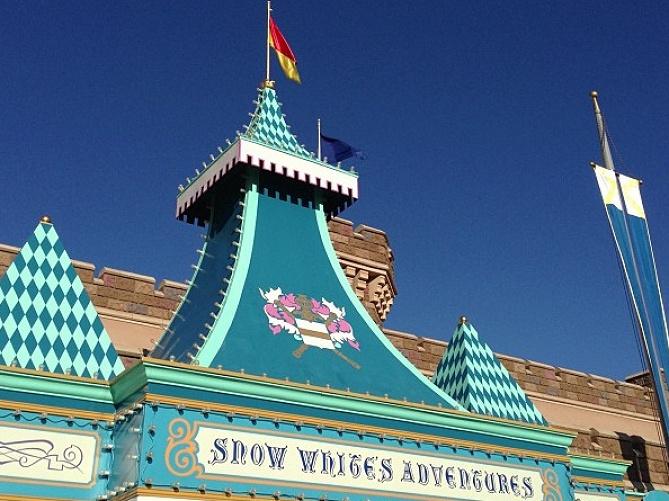 実はディズニーランド1の怖さ!?白雪姫と七人のこびと