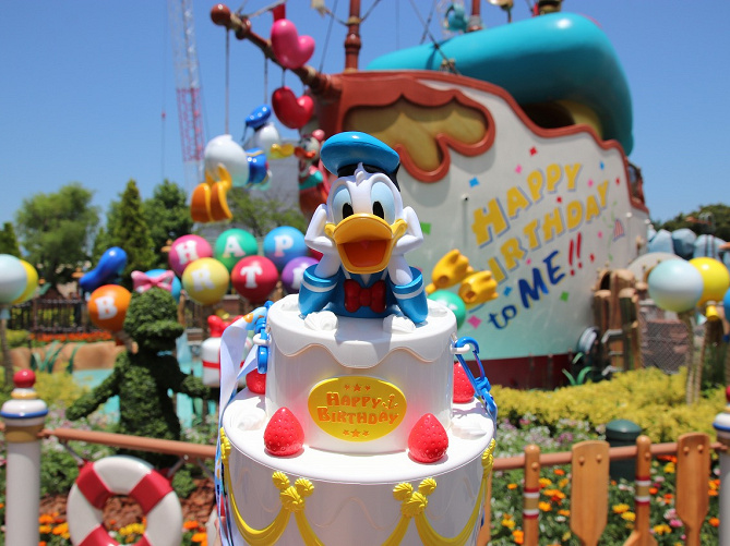 保存版ディズニーキャラクターの誕生日一覧ミッキードナルド