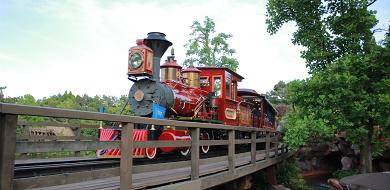 ウェスタンリバー鉄道の隠れミッキー大公開!