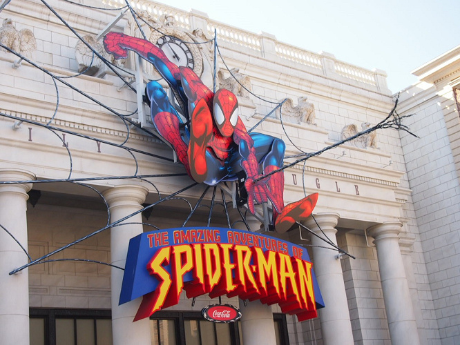 【待ち時間】ユニバのスパイダーマン完全ガイド!USJのアトラクション内容・怖い・写真・セリフなど