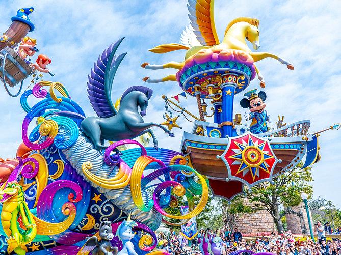 ディズニー35周年グランドフィナーレまとめ!ドリーミングアップ停止・グッズ・メニューも