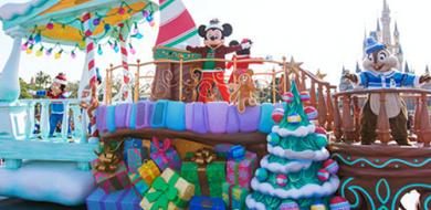 【最新】ディズニークリスマス2017イベント情報!ディズニーランド「クリスマス・ファンタジー」