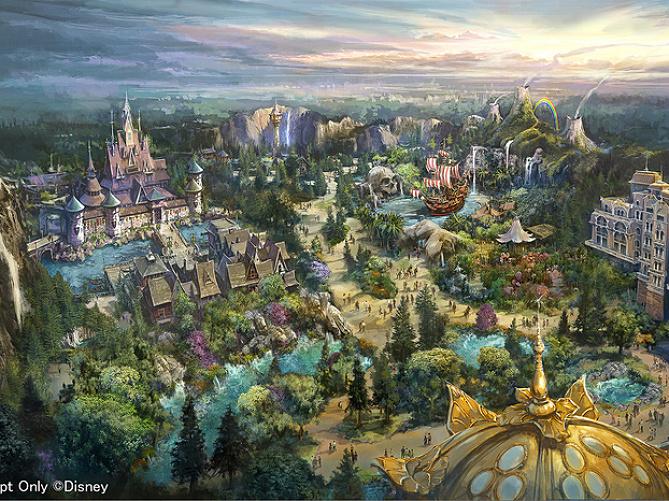 【速報】2022年オープンの新エリアは「ファンタジースプリングス」に決定!アナ雪やラプンツェルが登場