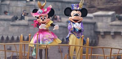 【混雑予想】2018年4月はディズニー35周年&イースター!激混みの春休みと閑散期が混在