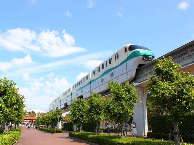 【画像解説】舞浜からディズニーシーへ徒歩での行き方!モノレール・タクシー・バスと比較