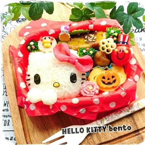 【特集】キティちゃんのキャラ弁アイデア19選!ハローキティのかわいいお弁当を作ろう