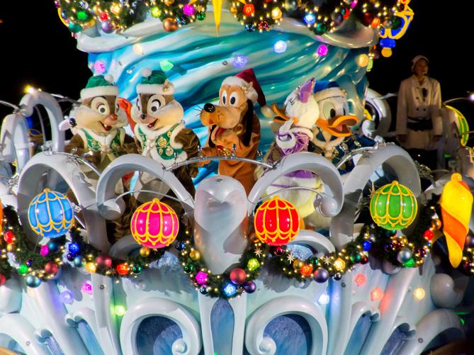 【2018】ディズニーシーのクリスマスショー4選!ショー衣装のぬいぐるみが登場!