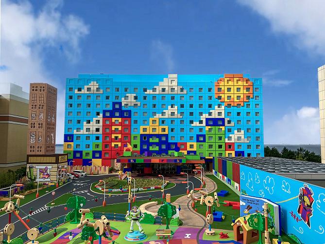 【2021年度】ディズニー新ホテル「トイ・ストーリーホテル」!スタンダートホテルの客室&場所まとめ!