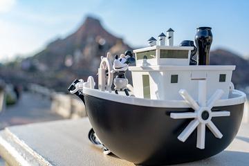 【ミッキー90周年】蒸気船ウィリーポップコーンバケットの値段&販売場所!大人気デザインの新作バケツ!
