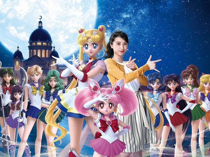 【2019】美少女戦士セーラームーンがユニバーサル・クールジャパンに登場!コンパクトやアトラクションを紹介