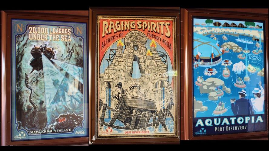 【シー編】ディズニーのアトラクションポスター12選!パーク最小の隠れミッキーや幻のグッズも!