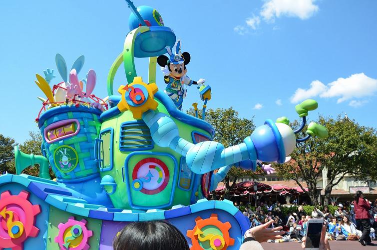 【2019】ディズニーランドイースター徹底ガイド!うさたまが登場!パレード・グッズ・メニュー・混雑まとめ!