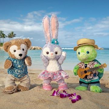 【最新】ステラルーがハワイのアウラニディズニーに登場!ダッフィー&フレンズの亀「オル」と共演!
