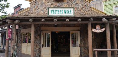 【ウエスタンウェア】ディズニーランドの西部グッズ販売ショップ!場所&グッズまとめ!レザーアイテムも!