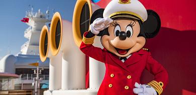 【ディズニークルーズ】キャプテン・ミニーマウスが登場!新船長と豪華客船の旅に出よう!