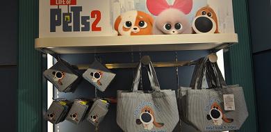 【USJ】映画『ペット2』グッズが期間限定で登場!ぬいぐるみや文房具が充実♪販売場所と値段は?