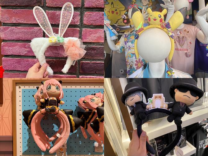 【2020】ユニバのカチューシャ全種類まとめ!USJおすすめグッズ!値段・特徴・販売店舗を徹底解説!
