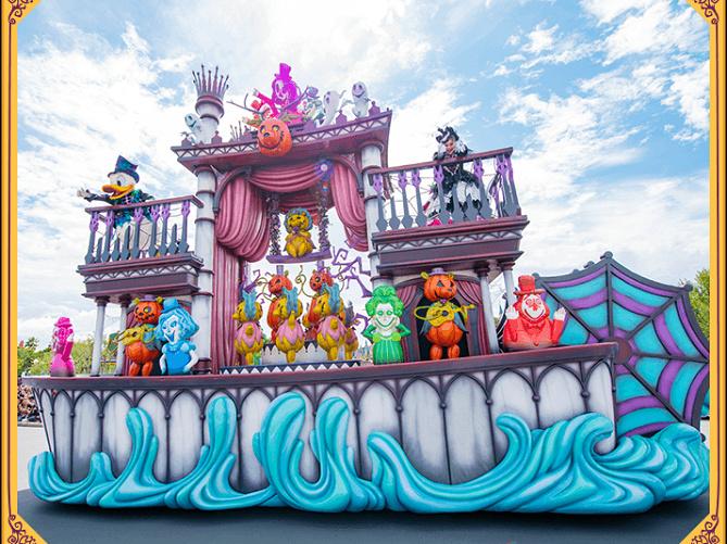 【最新】スプーキーBoo!パレード2019停止位置&キャラクターまとめ!ディズニーハロウィンのパレード