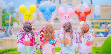 【2020】ディズニー夏コーデ総まとめ!浴衣コーデやディズニーバウンドも!