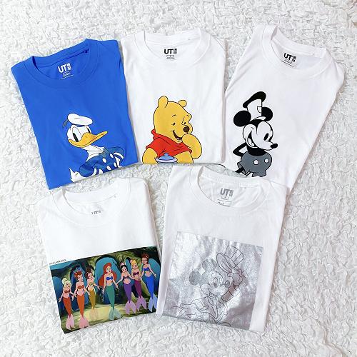 【夏秋】ブランド別ディズニーコーデ15選!ユニクロ&GU・WEGO・GRLなどのプチプラアイテム!
