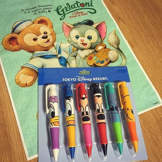 キャラクターボールペン