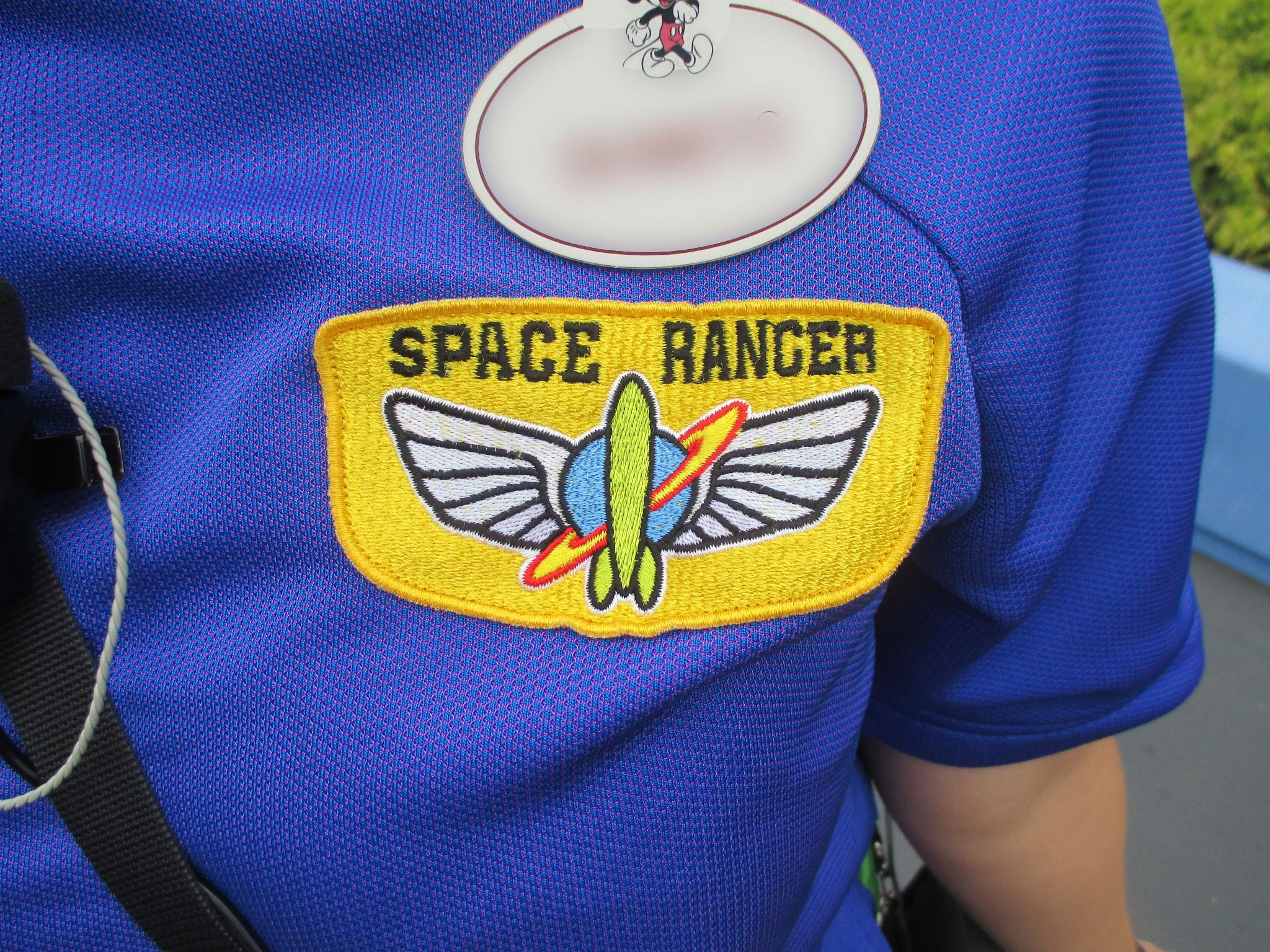 スペースレンジャーのロゴ