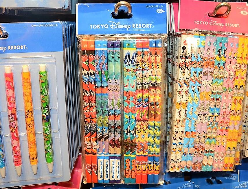 ピクサーキャラクター鉛筆セット(12本入り)