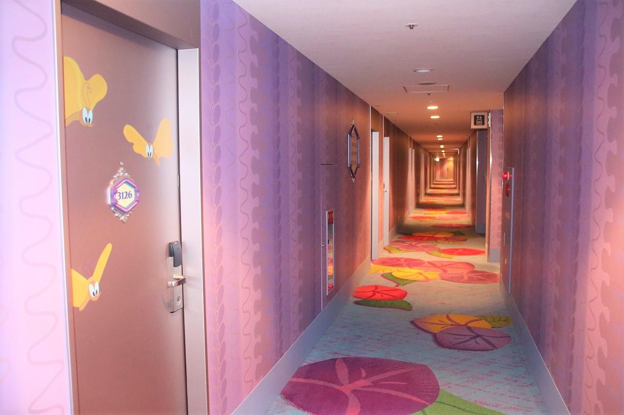 セレブレーションホテルウィッシュ廊下