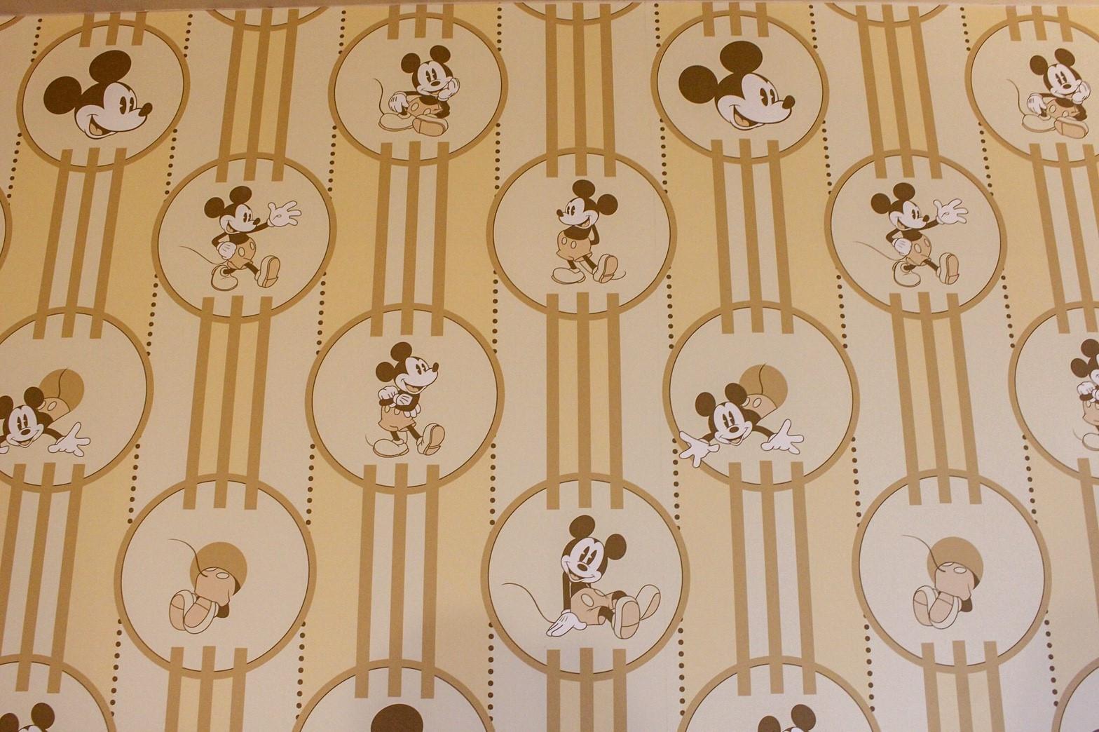ミッキーマウスルーム(アンバサダーホテル)の壁紙