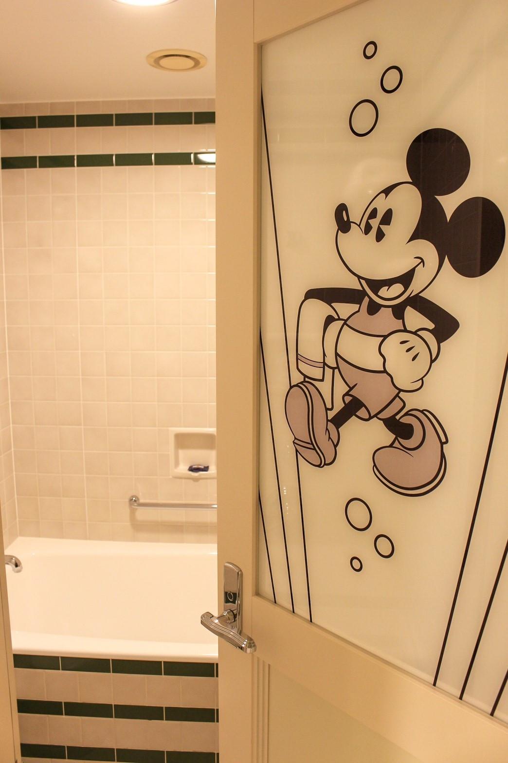 ミッキーマウスルーム(アンバサダーホテル)のお風呂場