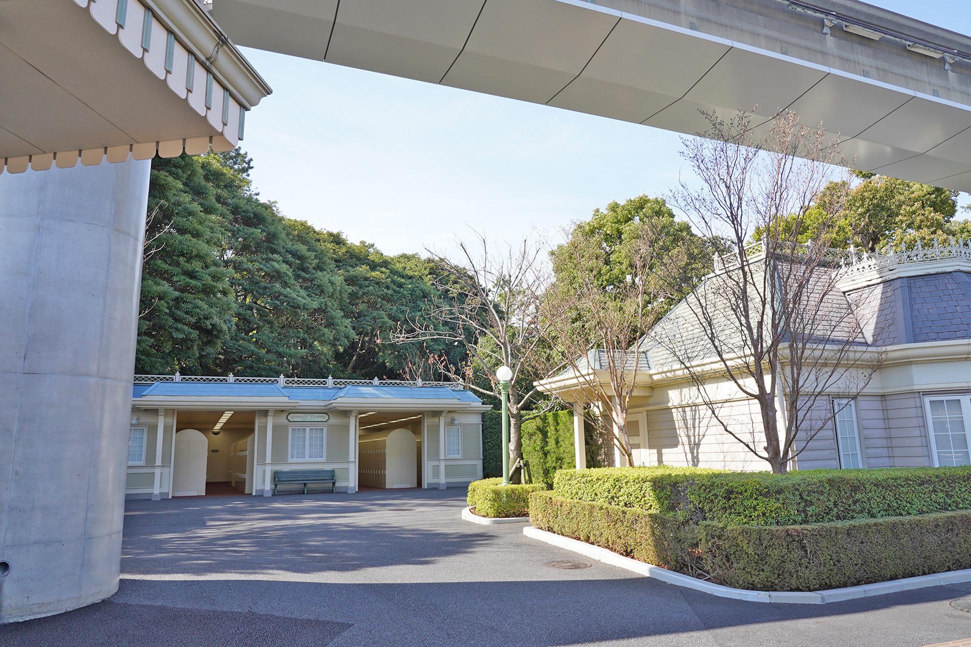 東京ディズニーランド バス・ターミナル付近のコインロッカー(パーク外)