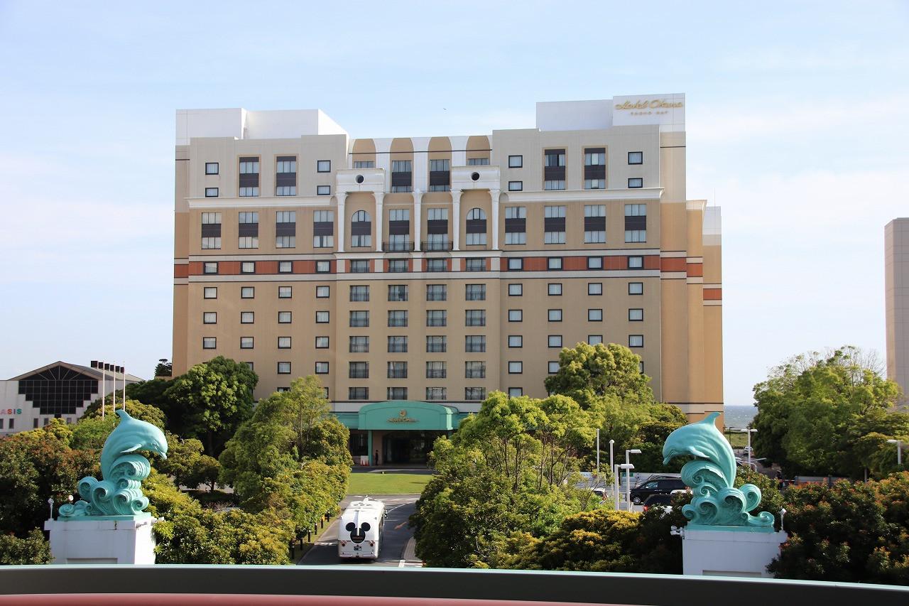 ホテルオークラ東京ベイの外観