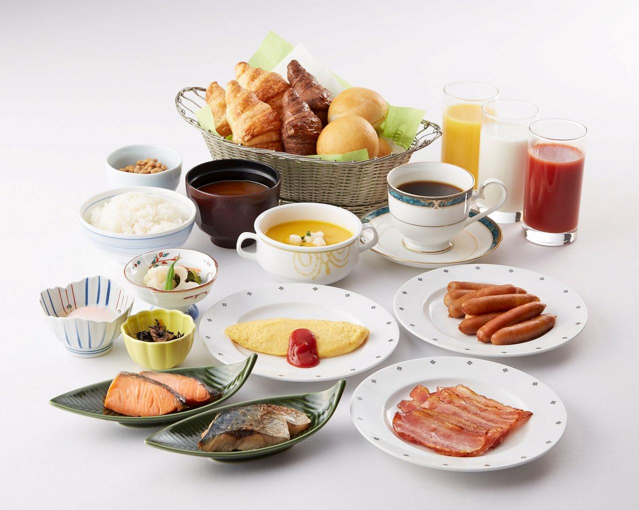 ディスカーロの朝食バイキング