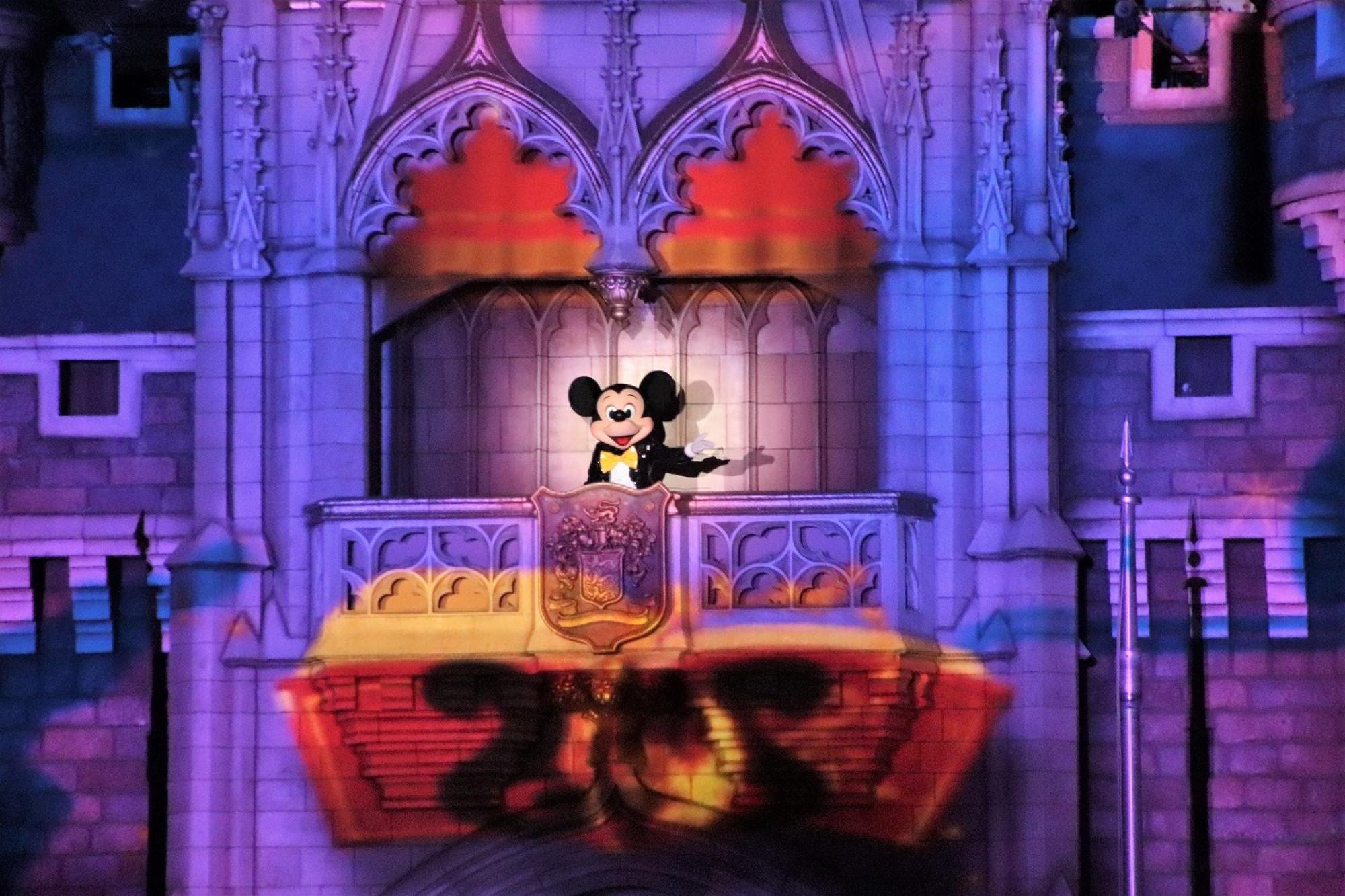 ミッキーマウス登場!