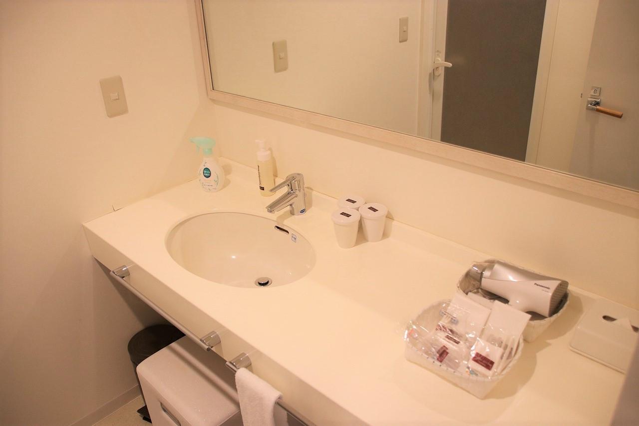 モデレートツインの洗面台