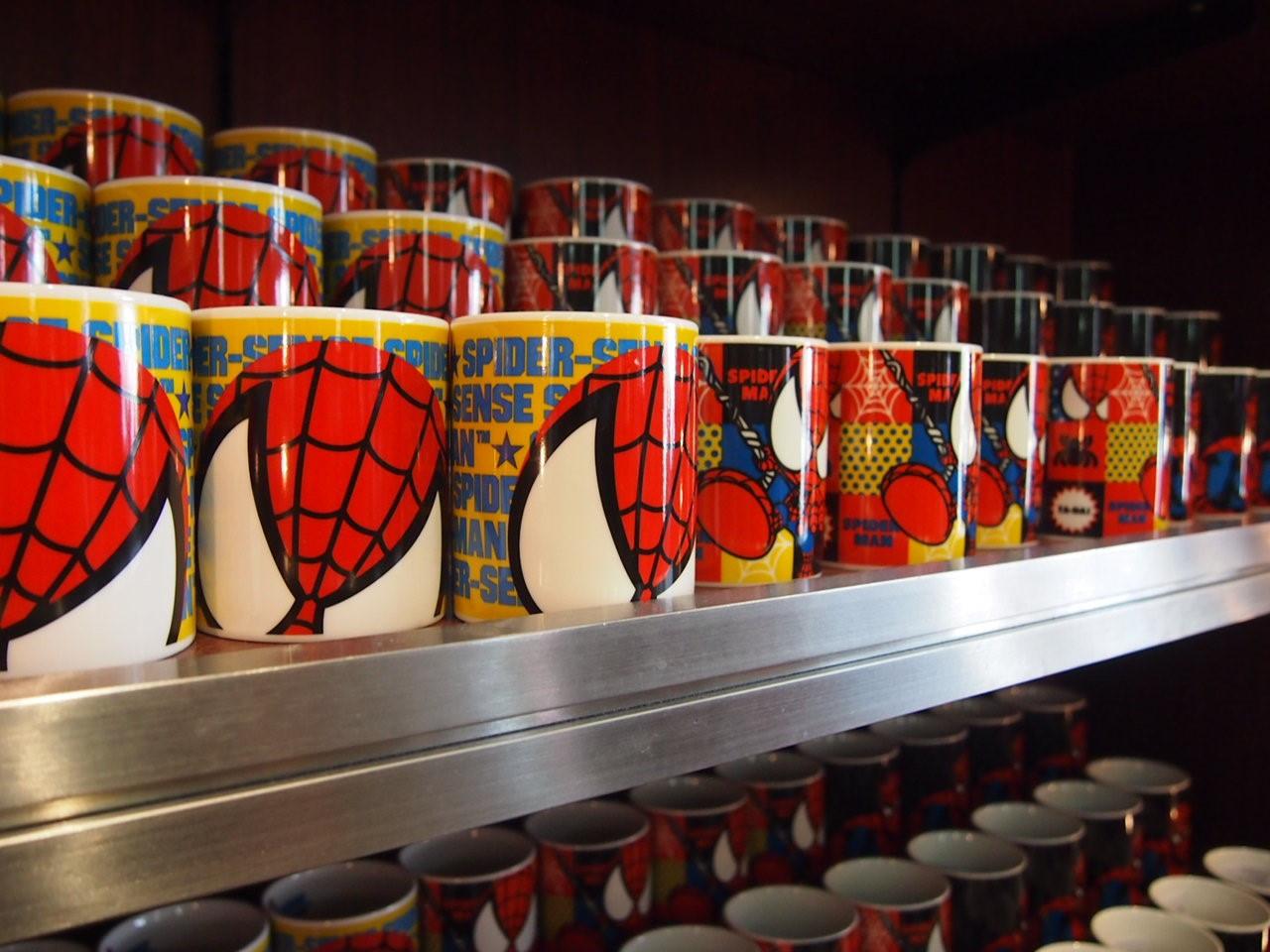 スパイダーマンマグカップ