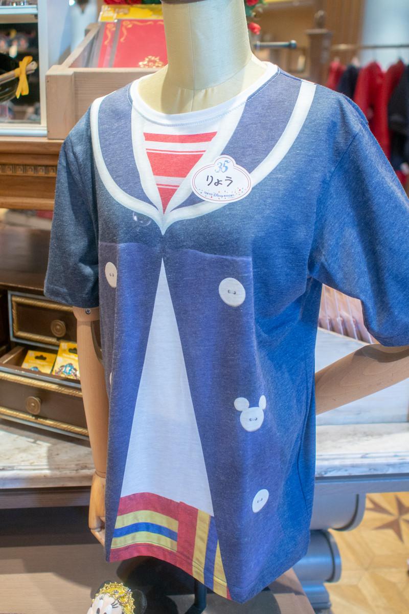 Tシャツ(ネームタグ風シール)
