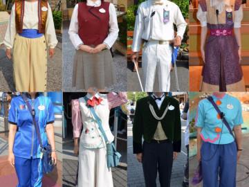 【シー編】ディズニーキャストのコスチューム30種類!制服写真で比較!アラビアンコーストキャストの階級は○○で見分けられる?!