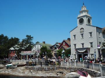 【ケープコッド】アメリカの漁村町&ダッフィーのエリア!レストラン・グリーティング・背景・楽しみ方!