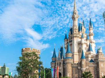 【ディズニーの城】シンデレラ城は世界に2つ!東京ともう1つはどこ?海外ディズニーの城まとめ
