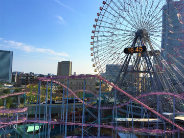 【コスモワールド】横浜で観覧車のある遊園地に行ってみた!周辺観光スポットやみなとみらいデート情報も