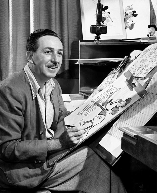 ウォルト・ディズニーが描いた、ユーモラスで魅力あふれる世界。