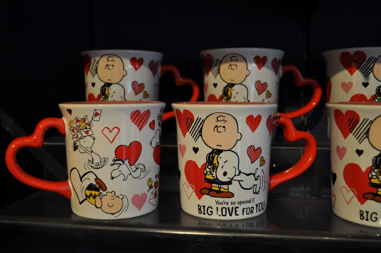 スヌーピー「BIG LOVE FOR YOU」マグカップ