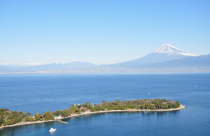 沼津市の海と富士山は絶景です!