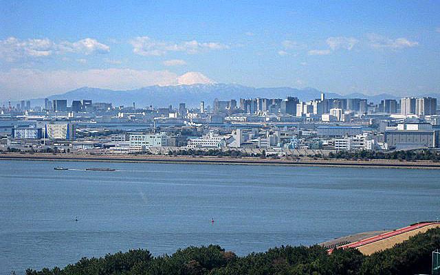 富士山が見える西方面