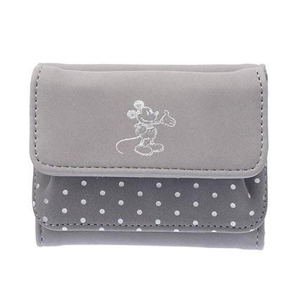 スウェード財布
