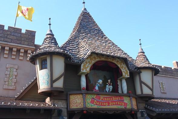 ピノキオの冒険旅行の入り口