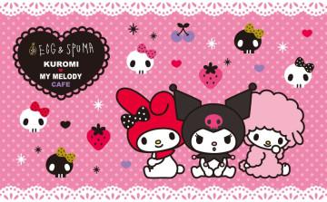 【マイメロカフェ】クロミ&マイメロディカフェがEGG&SPUMAで開催!4/15~6/30限定!