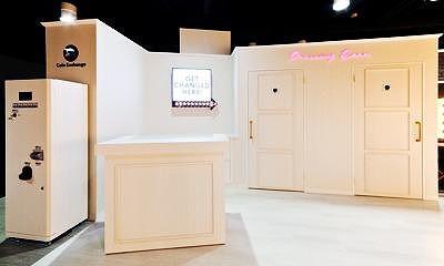 The Backstage Dressing Roomのメイク&ドレッシングエリア入り口/USJ周辺のパウダールーム