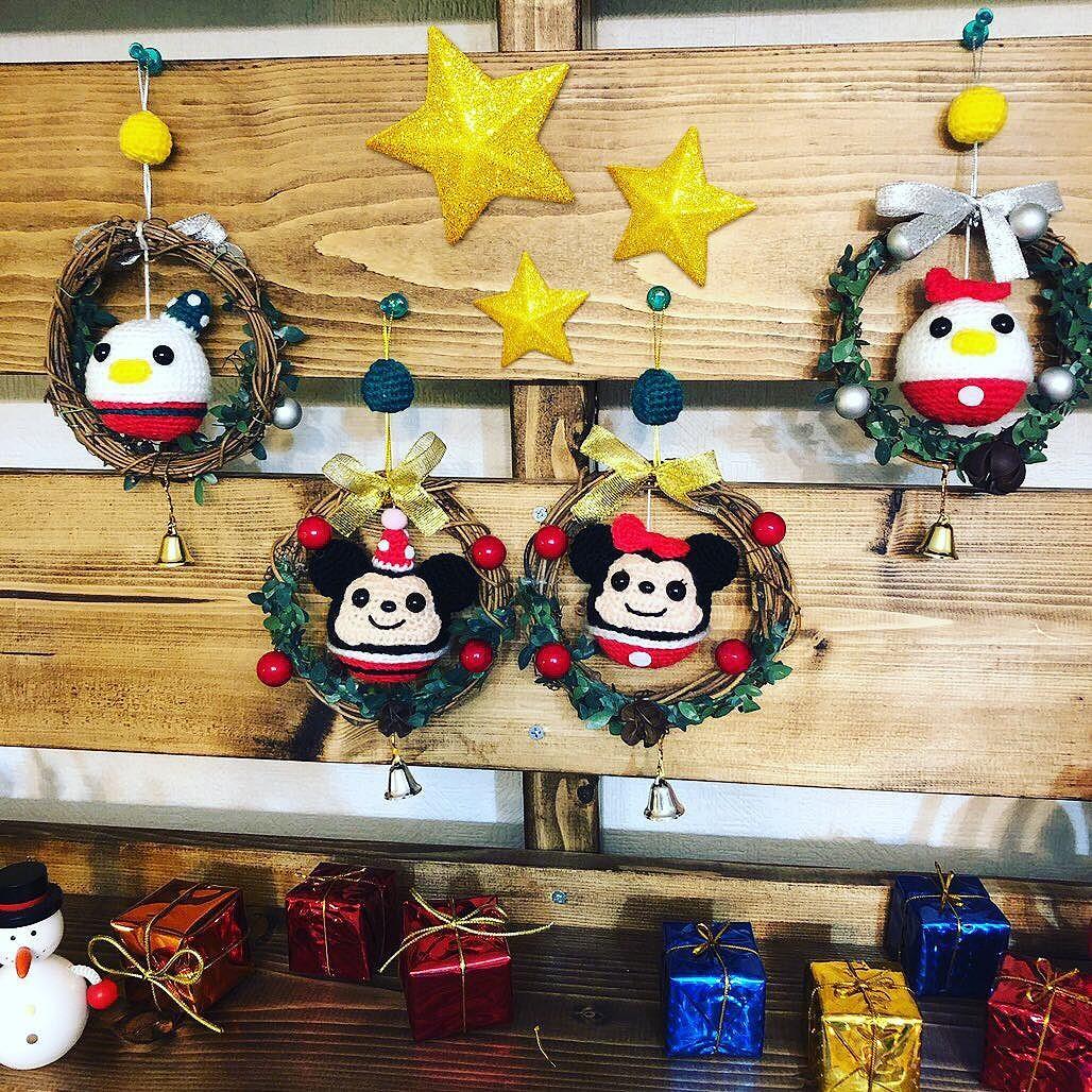クリスマスのつるし飾り